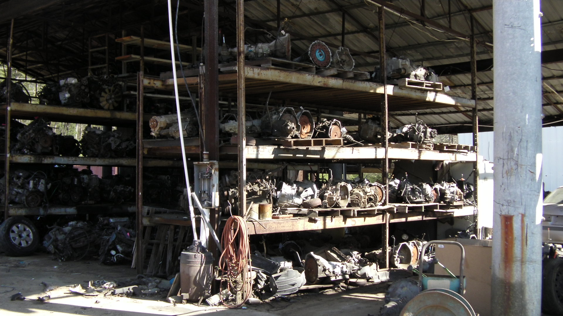 First time at a junk yard, here is what to expect
